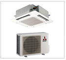 Mitsubishi Ceiling Cassette Heat Pumps