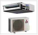 Mitsubishi Horizontal Ducted Heat Pumps