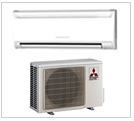 Mitsubishi ductless heat pumps