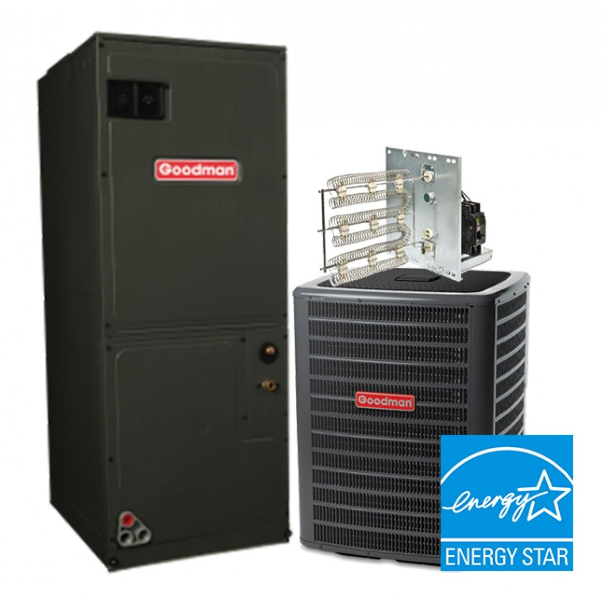 Goodman 1 5 ton 16 seer heat pump system star energy in 1 5 star energy