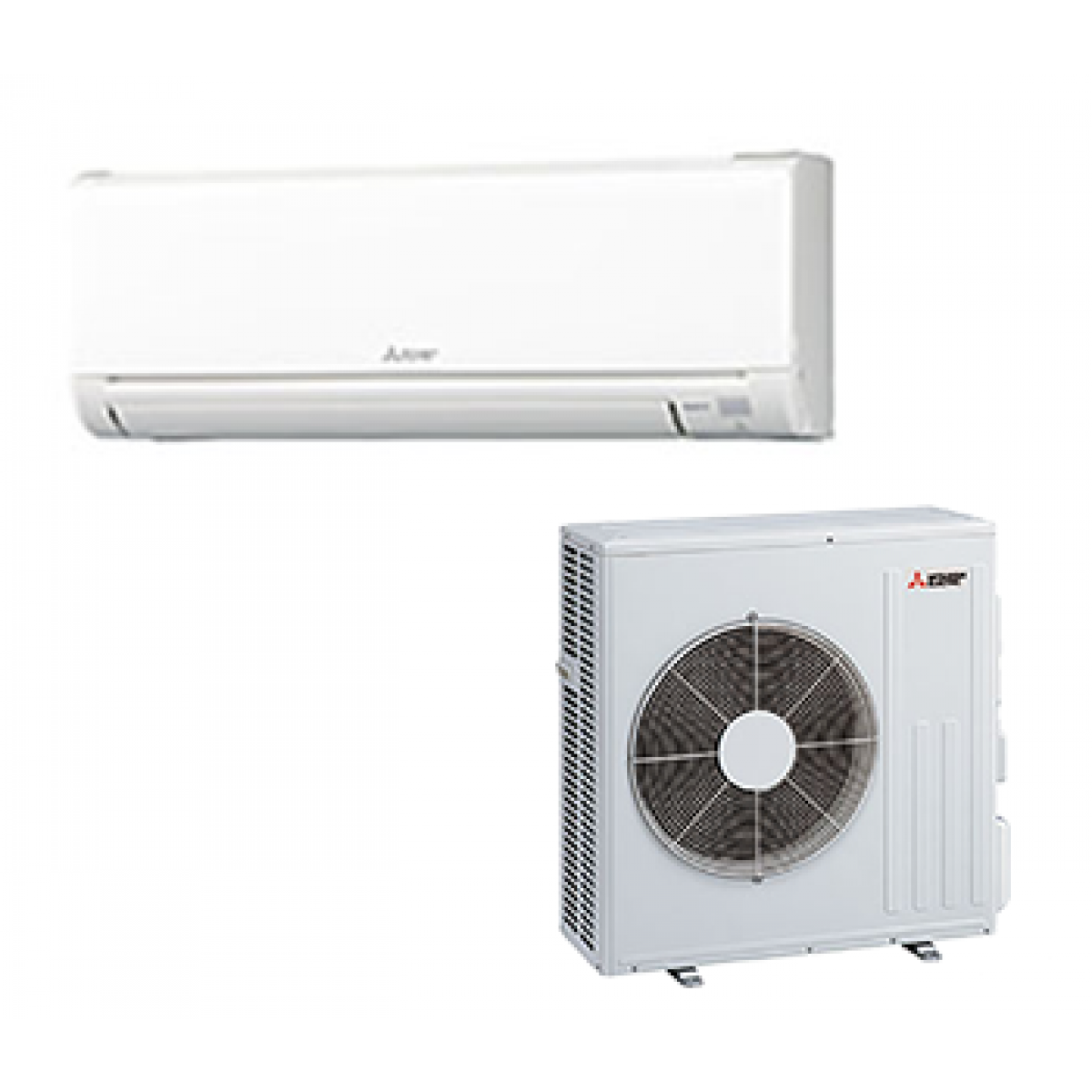 #824F49 Mitsubishi 24K BTU 20.5 SEER Heat Pump System In Single  Most Effective 5345 Mitsubishi Ductless Heating System pictures with 1200x1200 px on helpvideos.info - Air Conditioners, Air Coolers and more