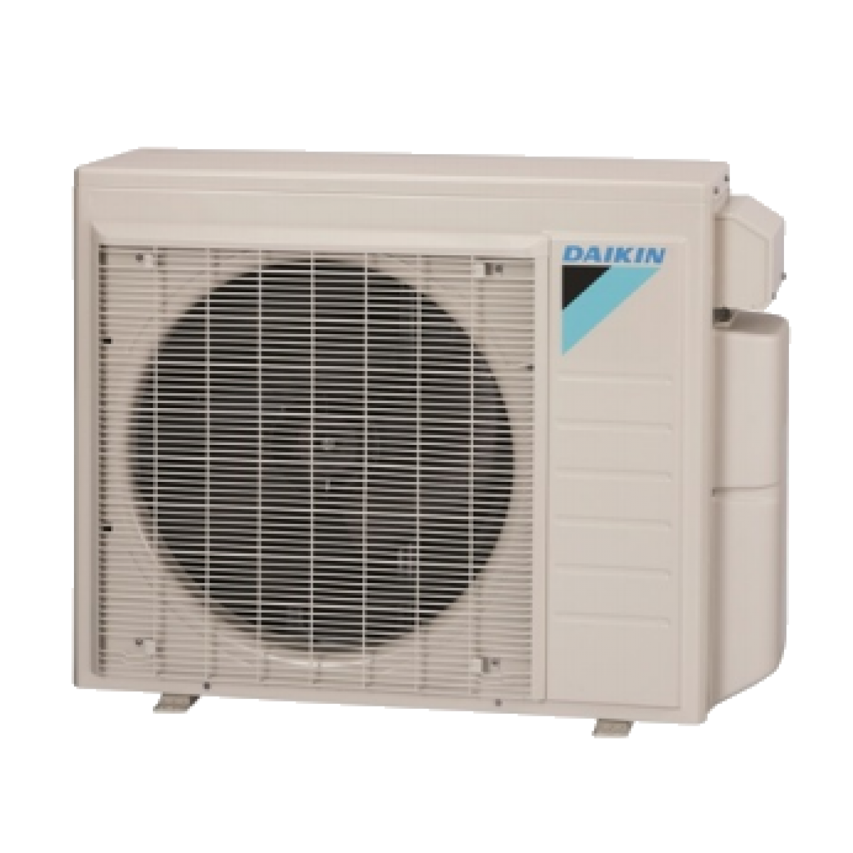 Daikin 2 zone 18k btu 18 seer heat pump condenser for Ductless ac