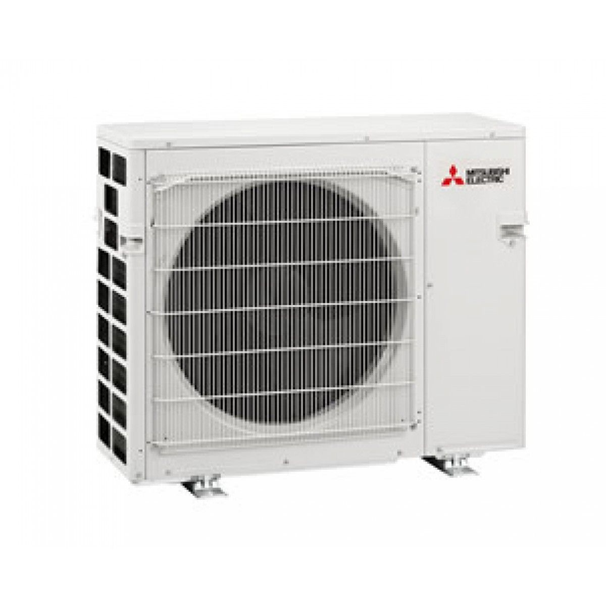 Mitsubishi 24k btu 3 zone heat pump condenser mxz 3c24na for Ductless ac