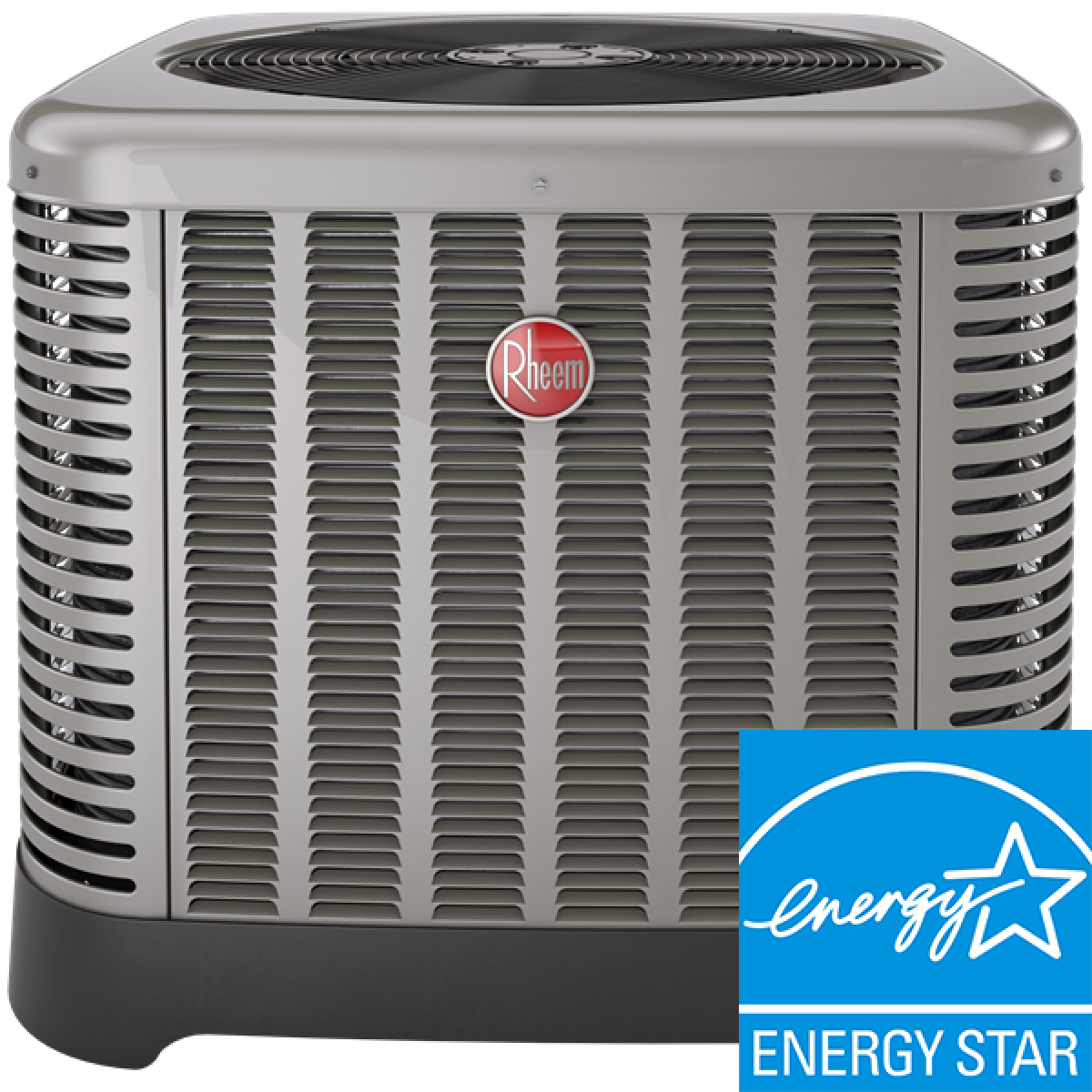 #0384C8 Rheem RA16 SEER 2T Single Stage Straight Cool Condenser In  Recommended 57 2 Ton Ac System pics with 1200x1200 px on helpvideos.info - Air Conditioners, Air Coolers and more