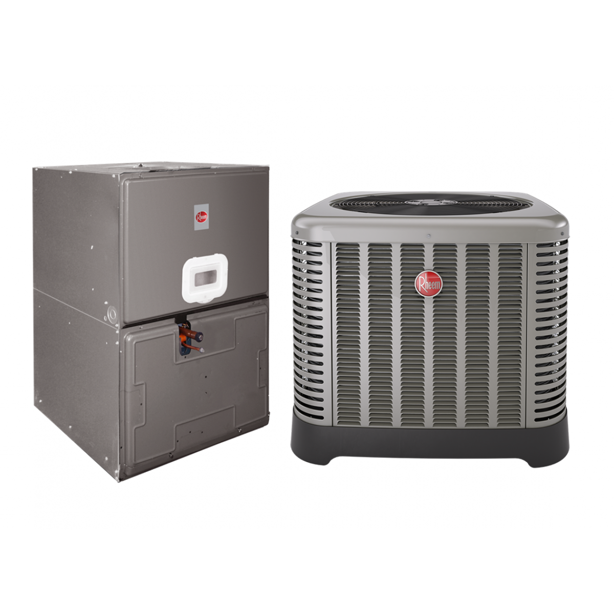 #9D312E Rheem 2.0 Ton 14 SEER Electric Heat Split System With 5KW  Best 6623 Split System Ac Units photos with 1200x1200 px on helpvideos.info - Air Conditioners, Air Coolers and more