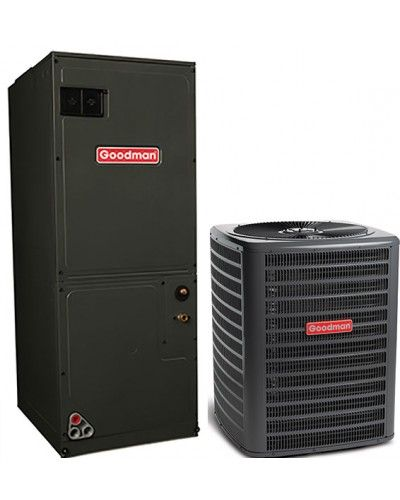 Goodman 3 5 Ton 16 Seer Single Stage Air Conditioning