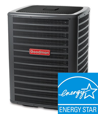 2.0 Ton Goodman GSX16 Straight Cool Condenser