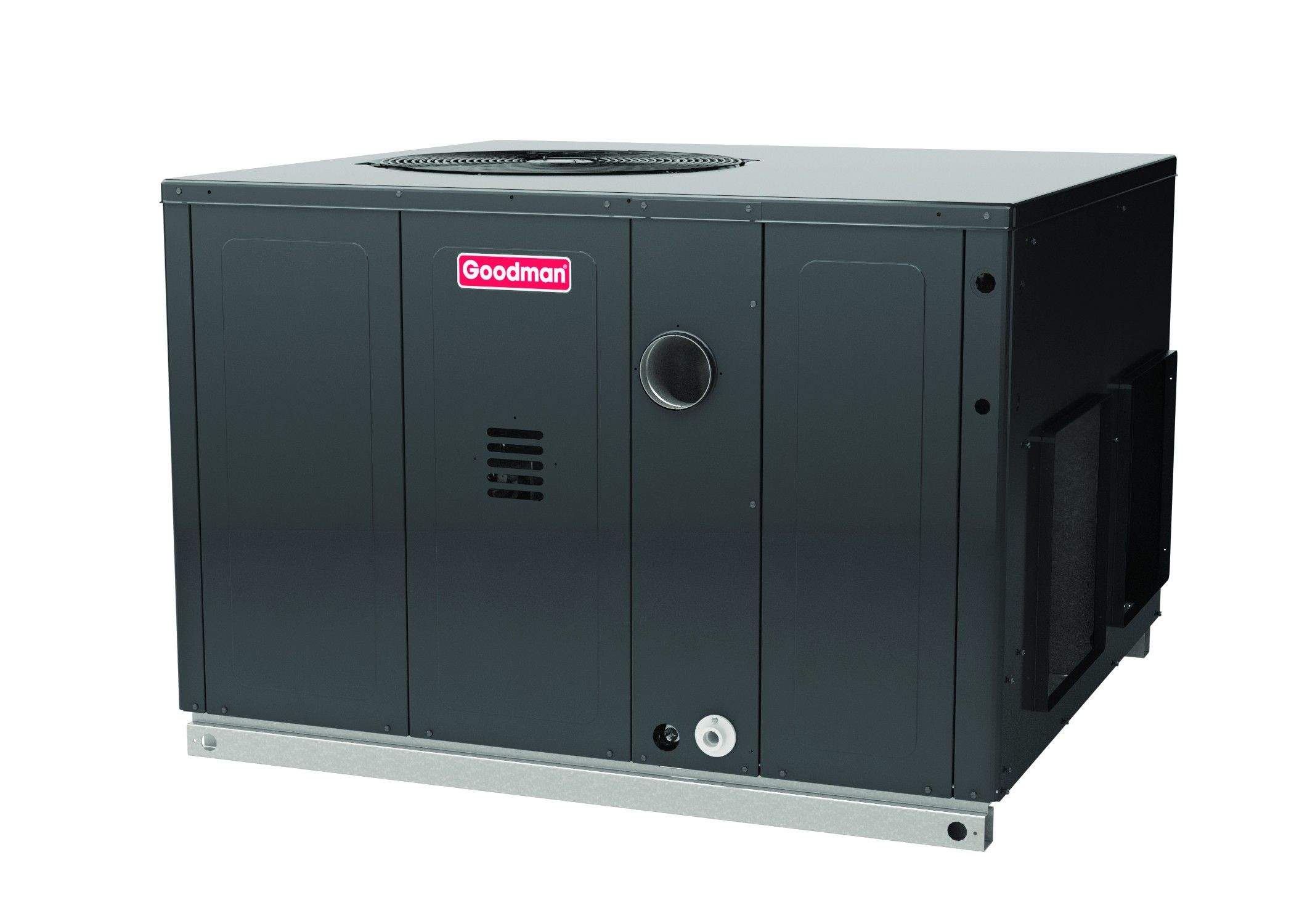 #C6054A Goodman 2.5 Ton 14 SEER 60K BTU Packge Unit With Gas Heat  Most Effective 12085 Goodman Air Conditioning Units pictures with 2100x1500 px on helpvideos.info - Air Conditioners, Air Coolers and more