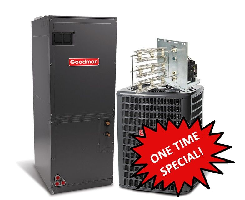 Goodman 2.5 Ton 14 SEER Heat Pump System **One Time Special**