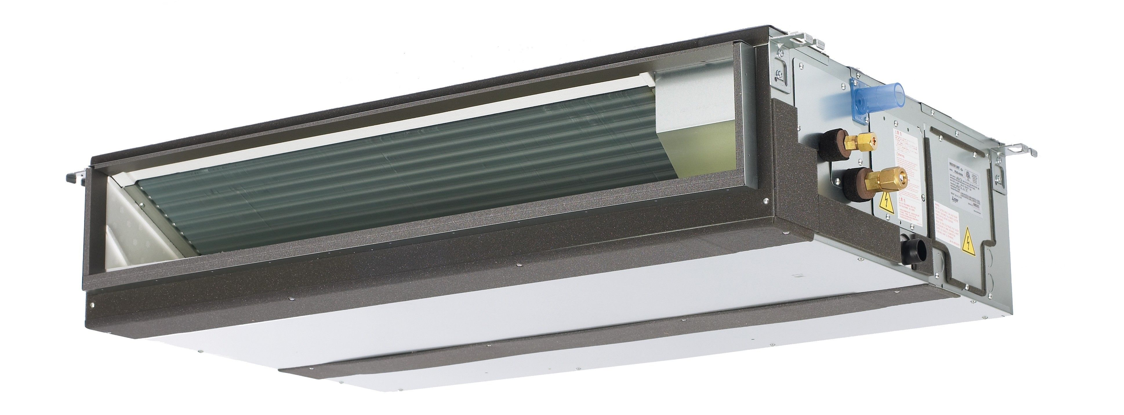 Duct Split Unit : K btu mitsubishi pead horizontal ducted indoor unit in