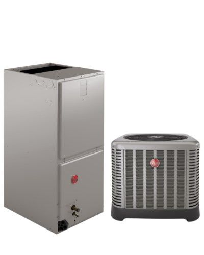 Rheem 2.0 Ton 14 SEER Air Conditioning System with Electric Heat