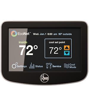 Rheem EcoNet Communicating Thermostat