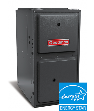 100K BTU Goodman 96% AFUE GCVC96 Downflow, Two-Stage Variable-Speed Gas Furnace