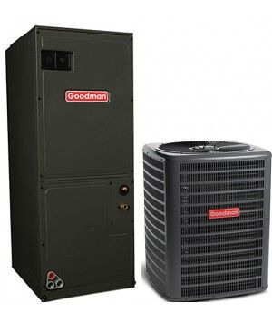 Goodman 3.5 Ton 16 SEER Single Stage Air Conditioning System with Electric Heat