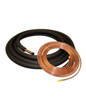 Copper Refrigerant Lineset and Insulation for 1.5 - 2.5 Ton Systems