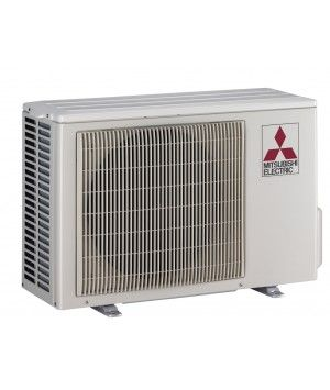 9K BTU MItsubishi MUZGL Heat Pump Outdoor Unit
