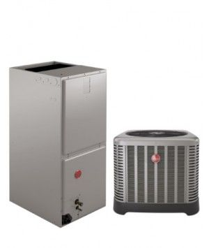Rheem 1.5 Ton 14 SEER Air Conditioning System with Electric Heat