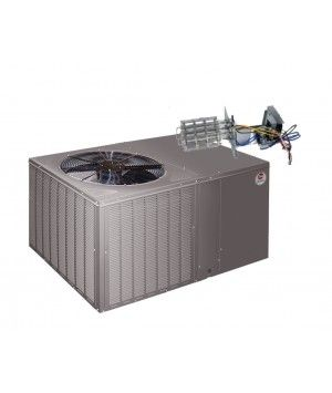 Rheem 14 Seer 2.0 Ton Straight Cool Package Unit with Electric Heat