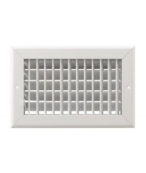 12x8 2-Way Stamped Multi-Louver Sidewall Grille