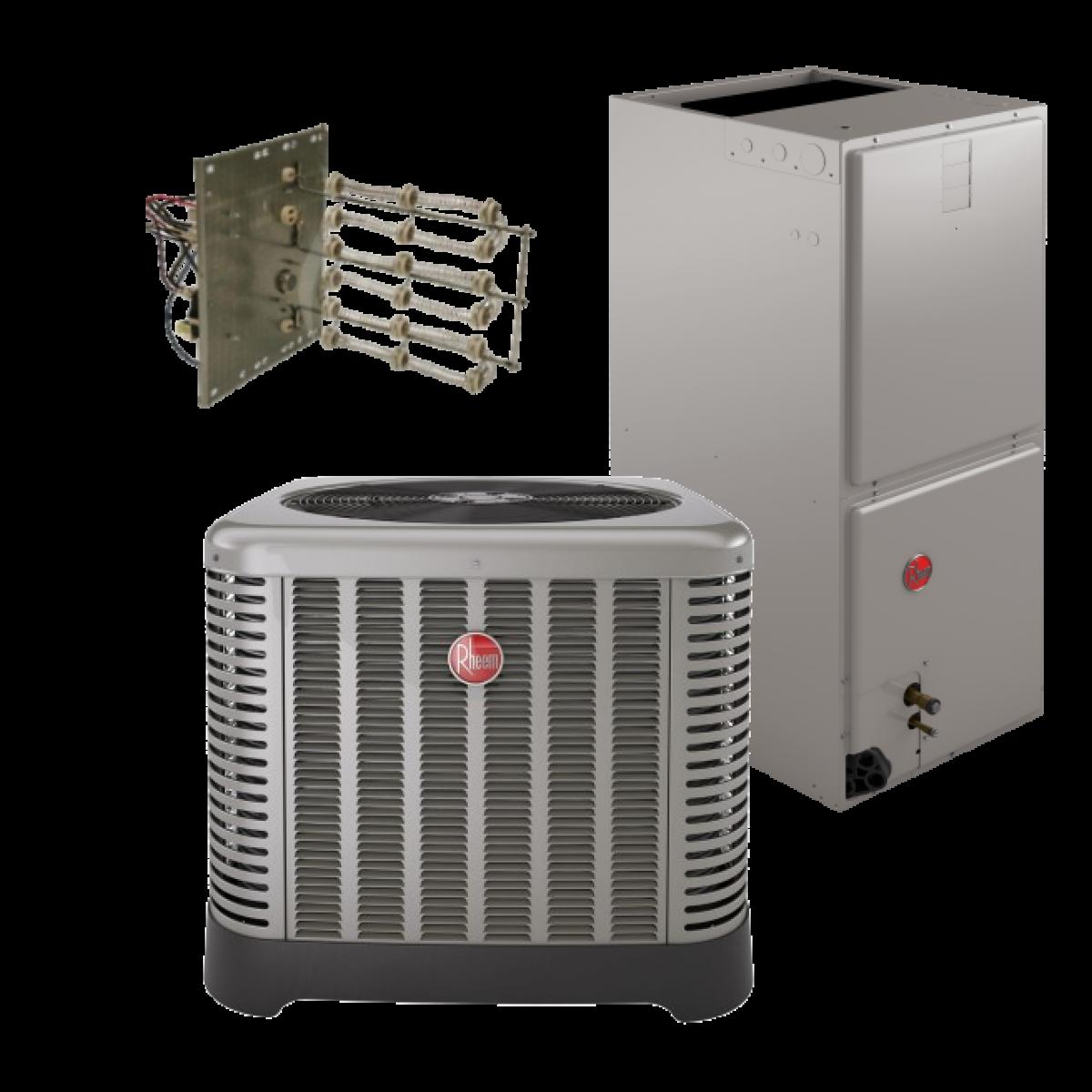 Rheem 15 Seer 3 Ton Heat Pump System 2 5 Ton 3 0 Ton