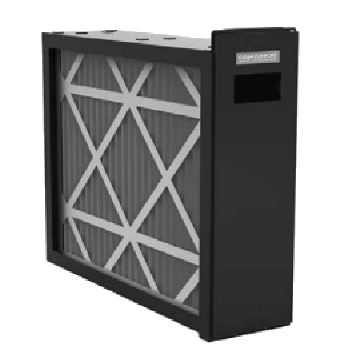 Clean Comfort Media Air Cleaner 20x25x5 with the filter ...
