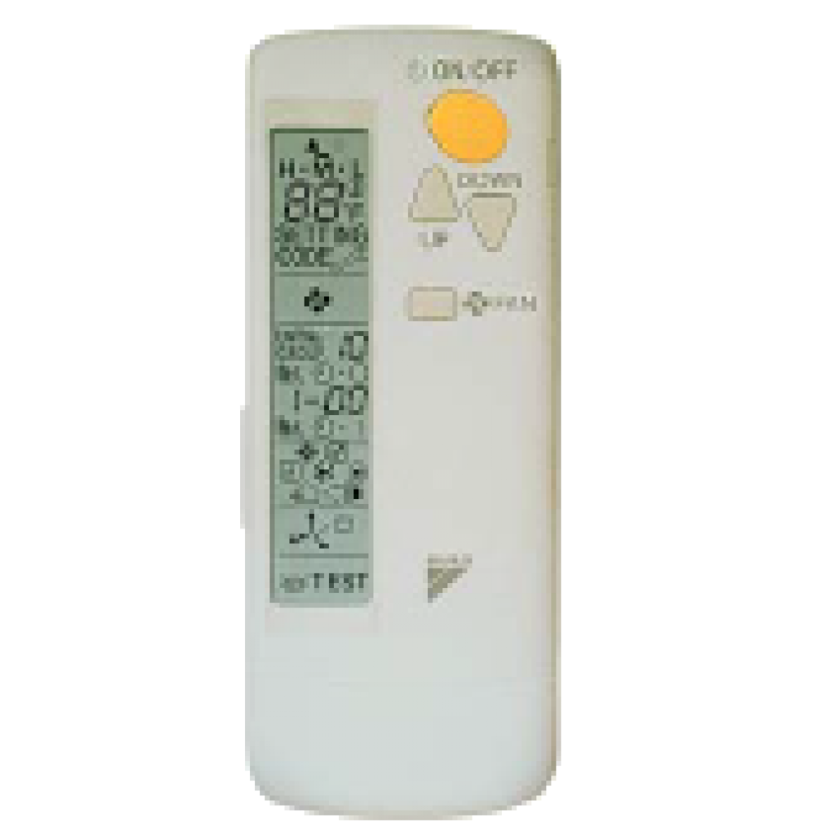 Daikin Wireless Remote Controller For Ceiling Cassettes