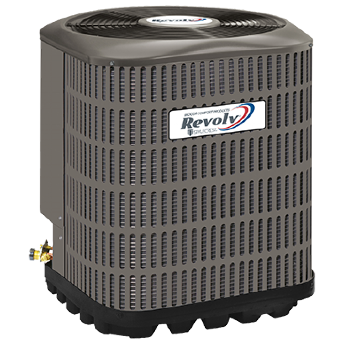 Revolv 2 0 ton 14 seer electric heat system for the mobile for Electric heating systems homes