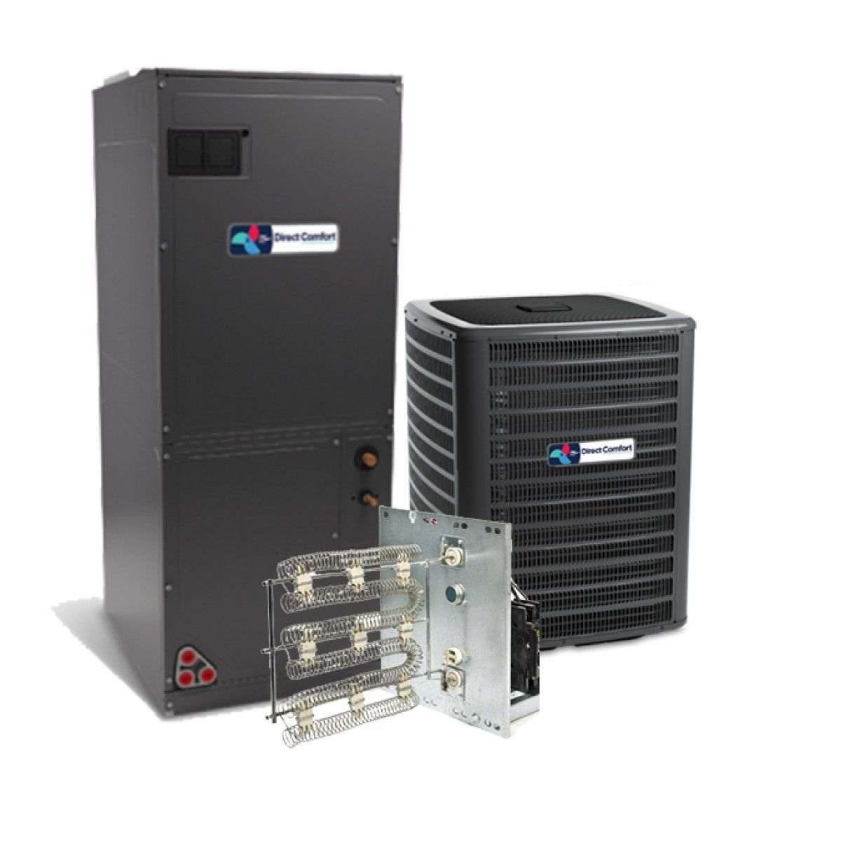 Heat Pump Systems : Direct comfort ton seer heat pump system two stage