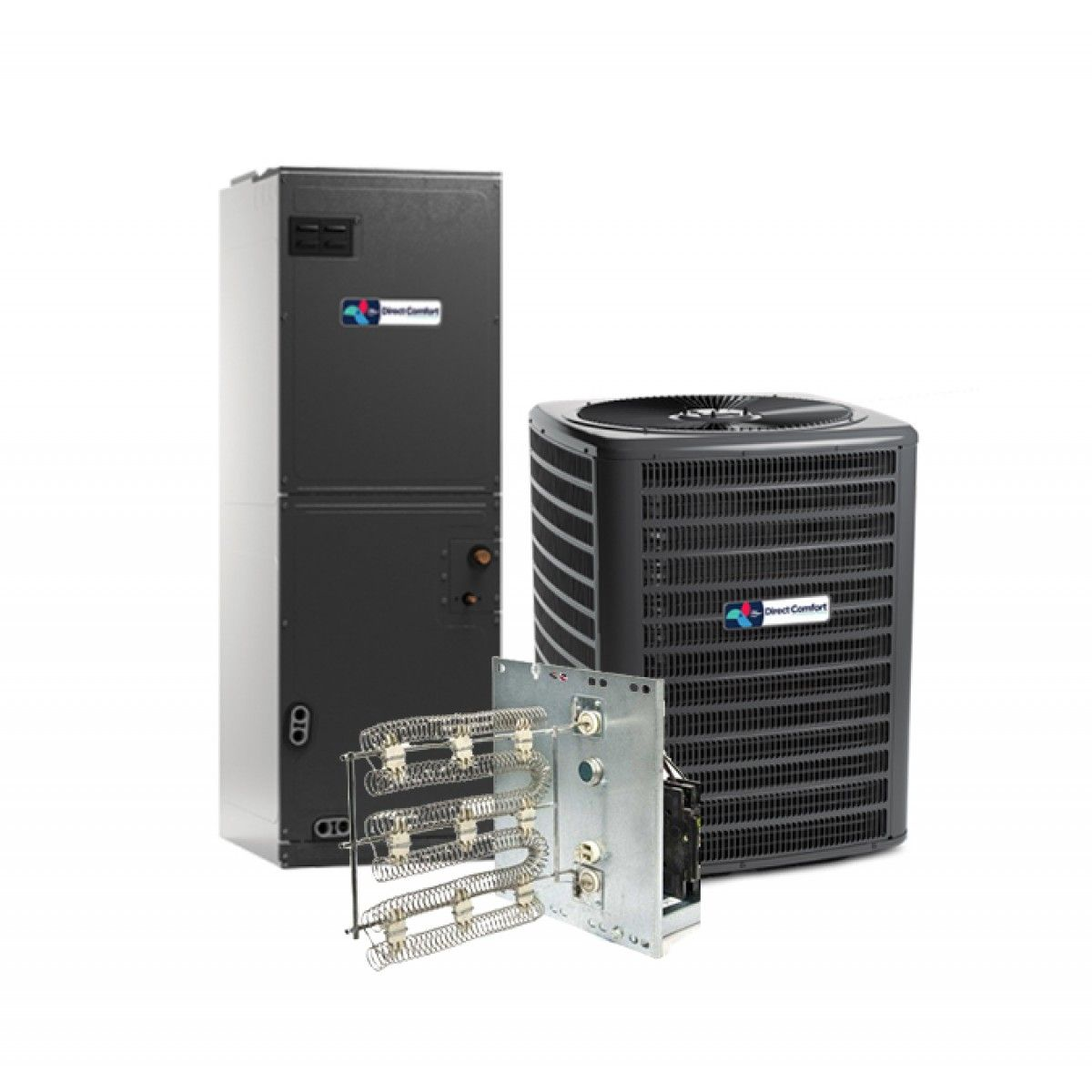 Heat Pump Systems : Direct comfort ton seer heat pump split system