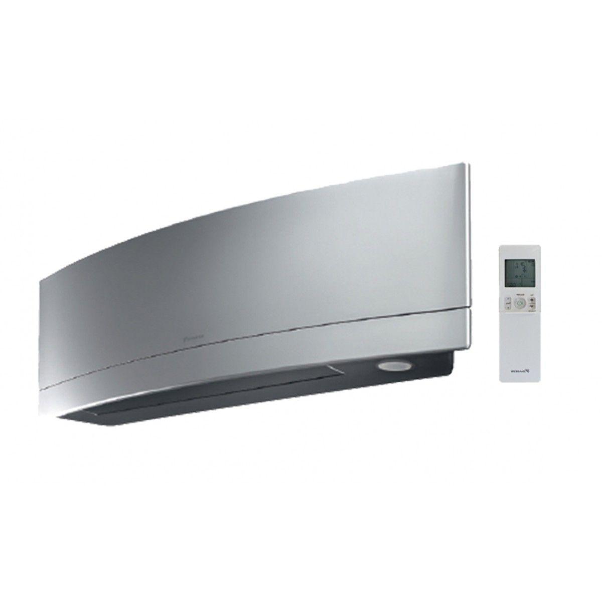 Daikin Emura 12k Btu Wall Mount Indoor Air Handler Silver