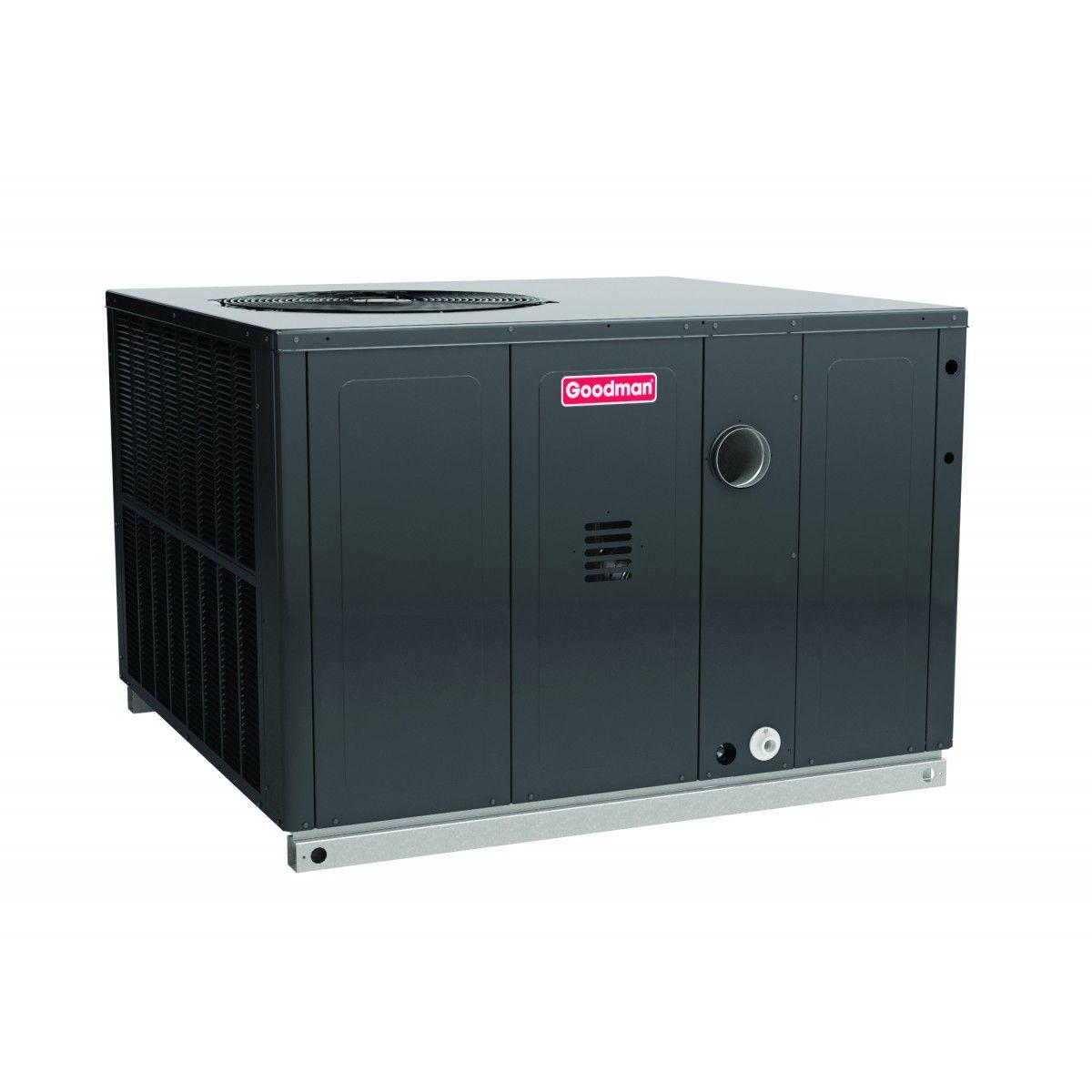 goodman 2 5 ton 14 seer 40k btu packge unit with gas heat. Black Bedroom Furniture Sets. Home Design Ideas