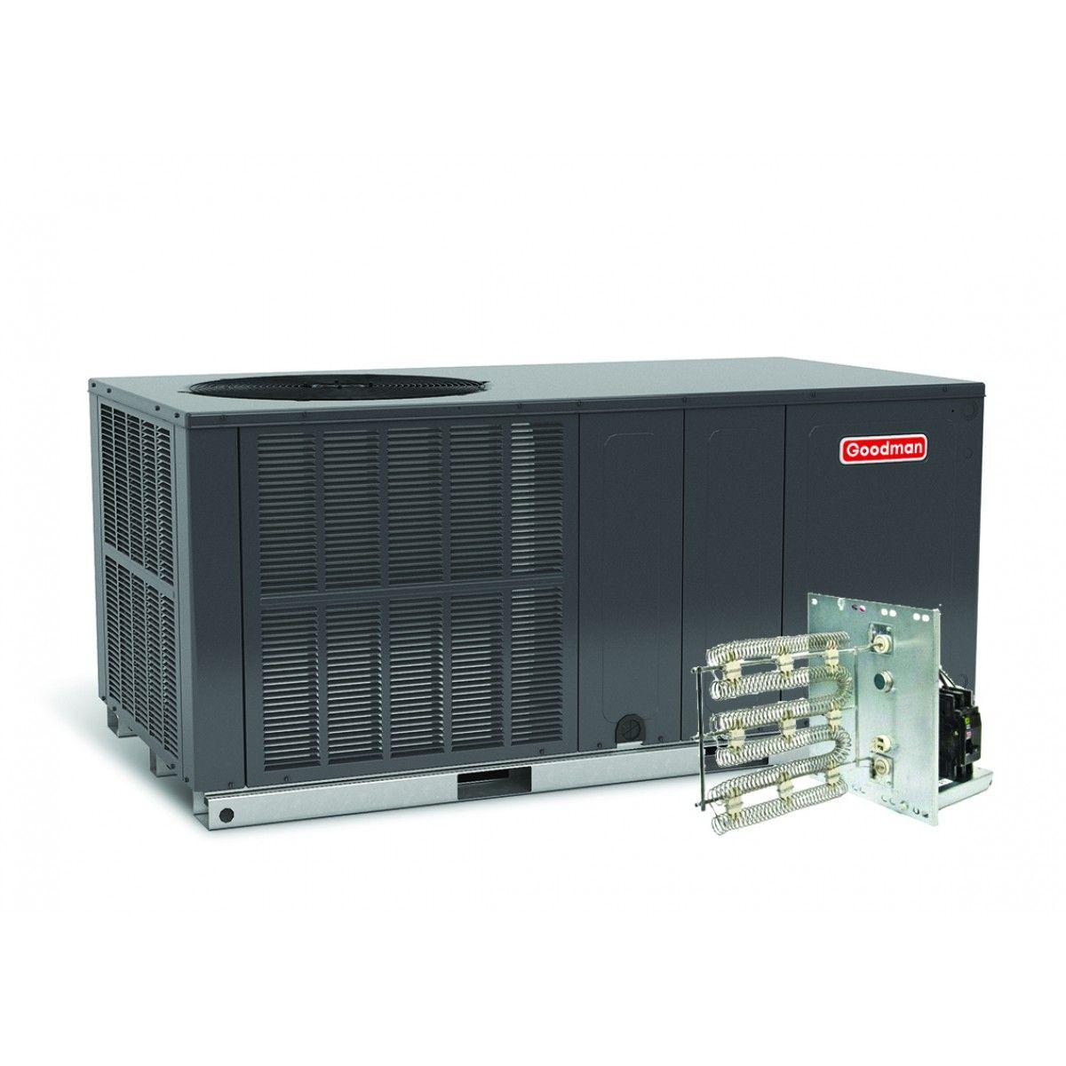 Goodman 5 Ton 14 Seer Heat Pump Package Unit Horizontal