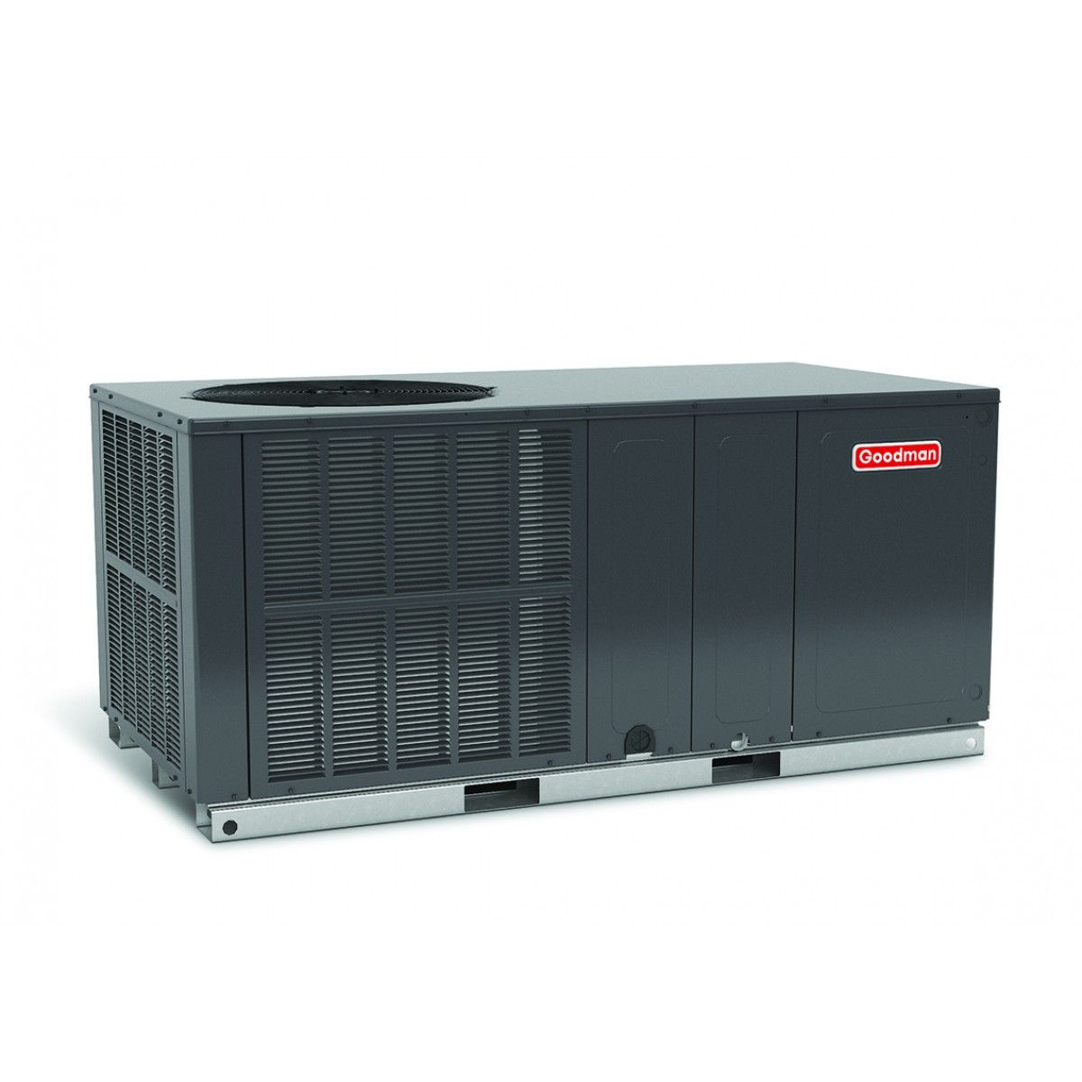 goodman 2.0 ton 14 seer electric heat package unit horizontal