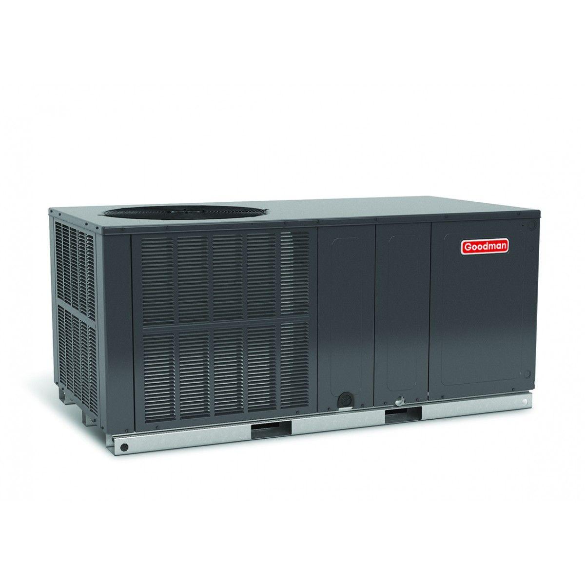 Goodman 3.5 Ton 14 SEER Heat Pump Package Unit Horizontal ...