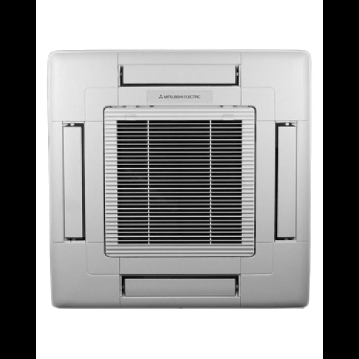 15k Btu Mitsubishi Slzka Ceiling Cassette Heat Pump Indoor