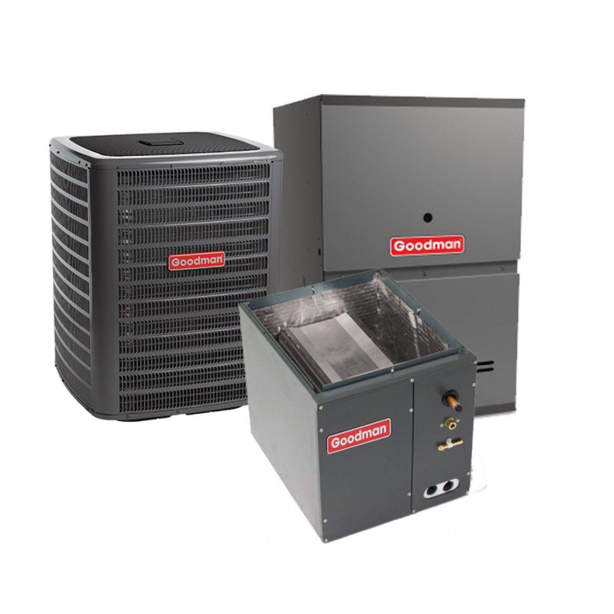 Goodman 15 Ton 13 Seer 80 Efficient 60000 Btu Single Stage Gas Air Handler Circuit Board Conditioner Furnace