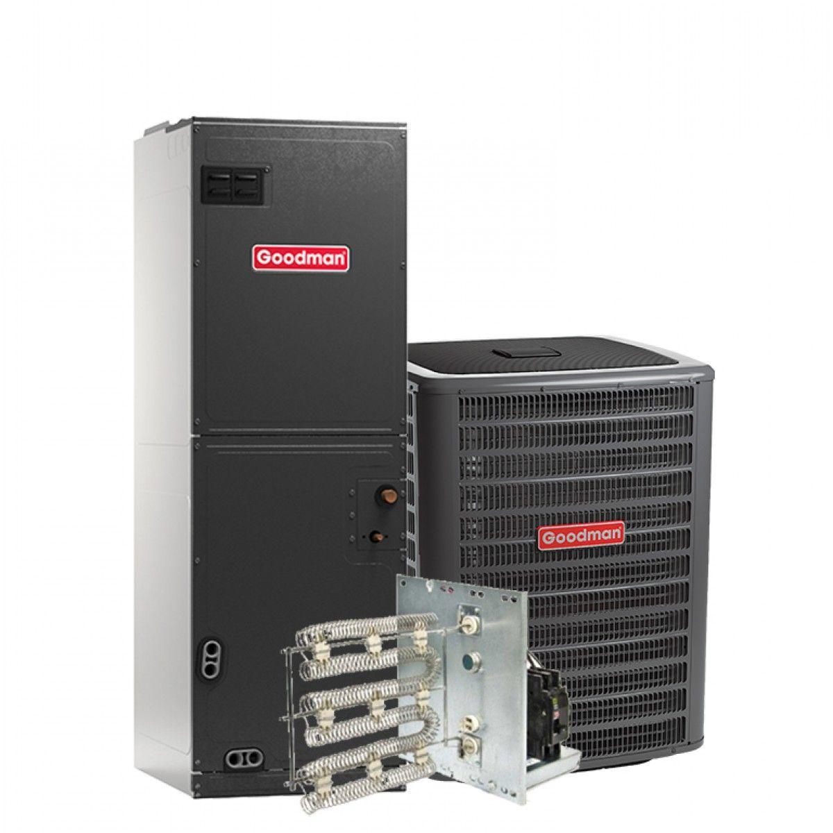 Goodman 2 0 Ton 13 Seer Air Conditioning System With
