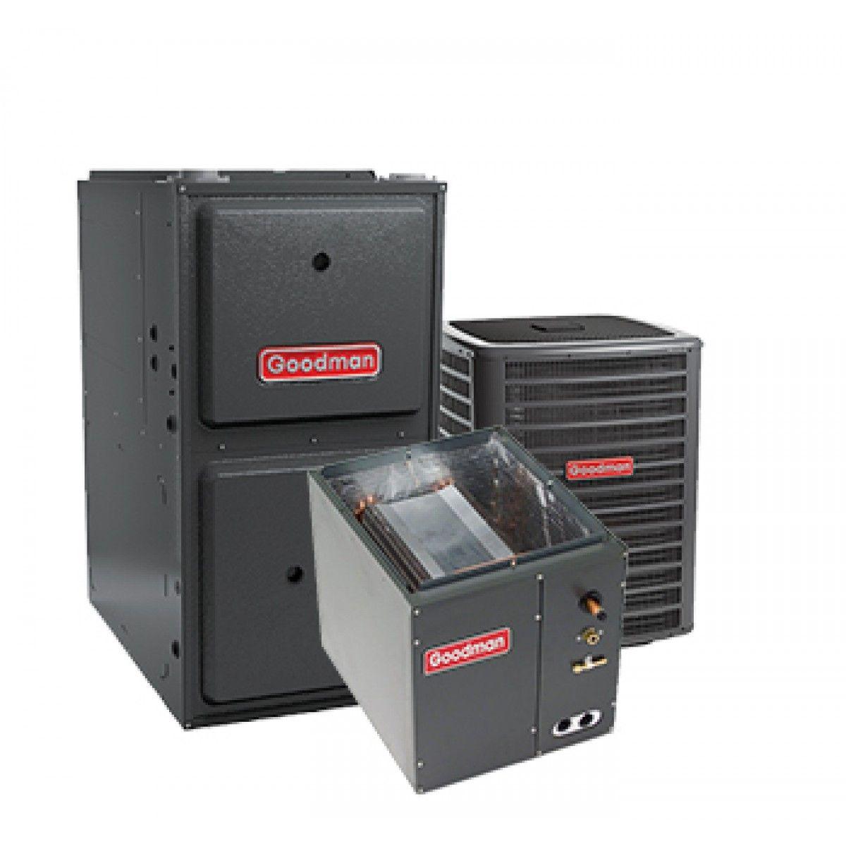 Goodman 3 Ton 17 Seer 96 Afue 100 Btu Gas Electric Air