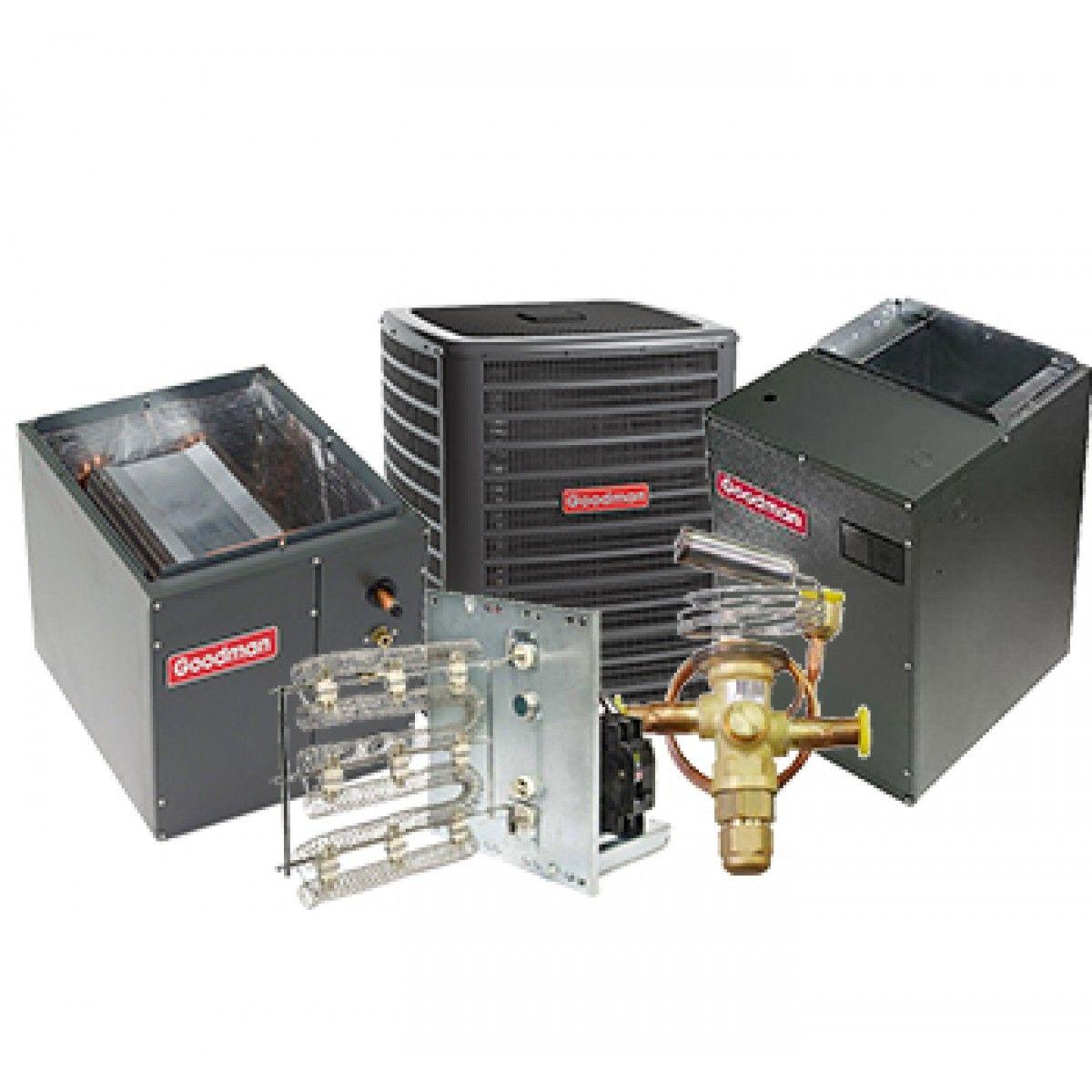 2 Ton Goodman 18 SEER R410A Two-Stage Variable Speed Air Conditioner Split System 10 Kilowatt