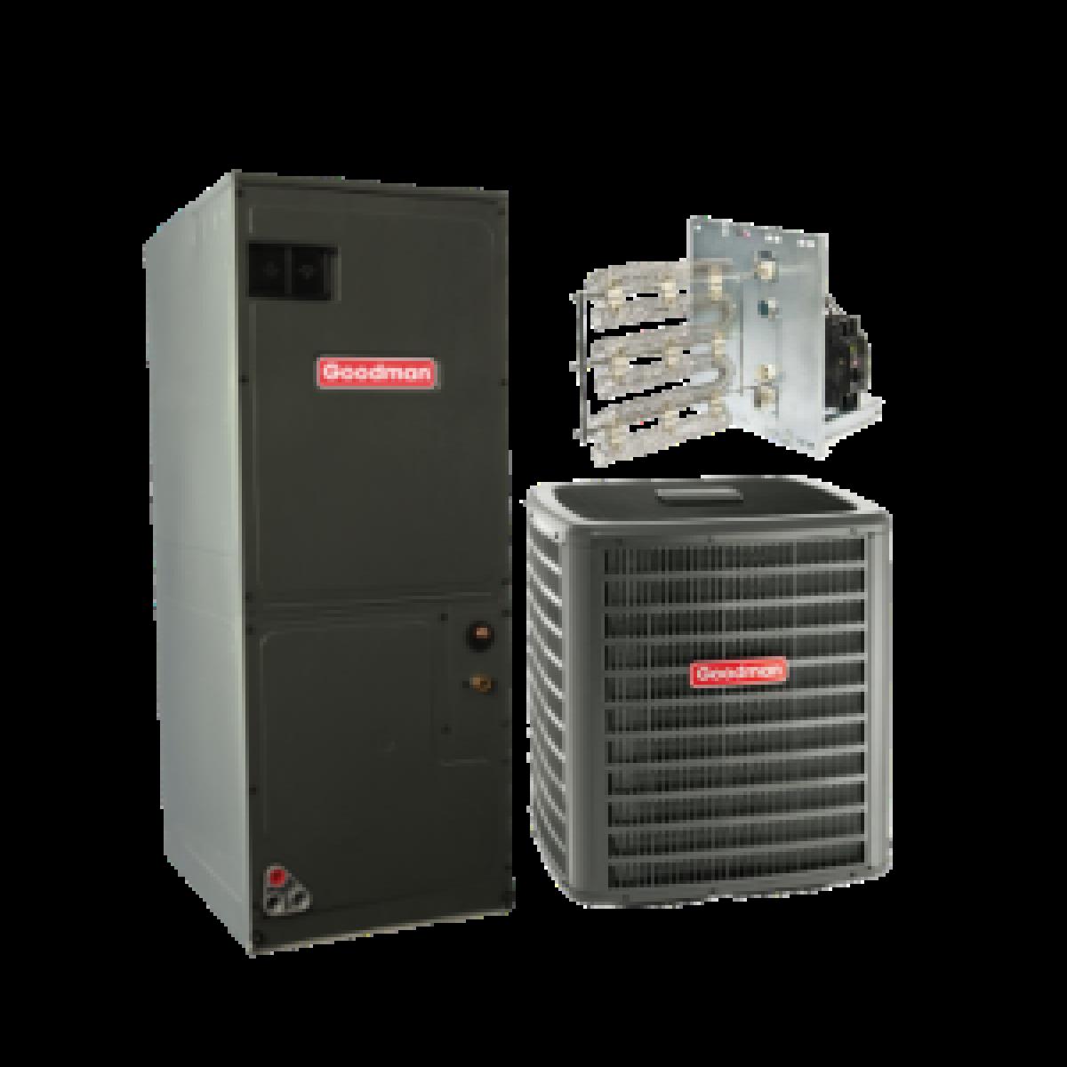 Reviews For Goodman 3 0 Ton 14 Seer Heat Pump Split System