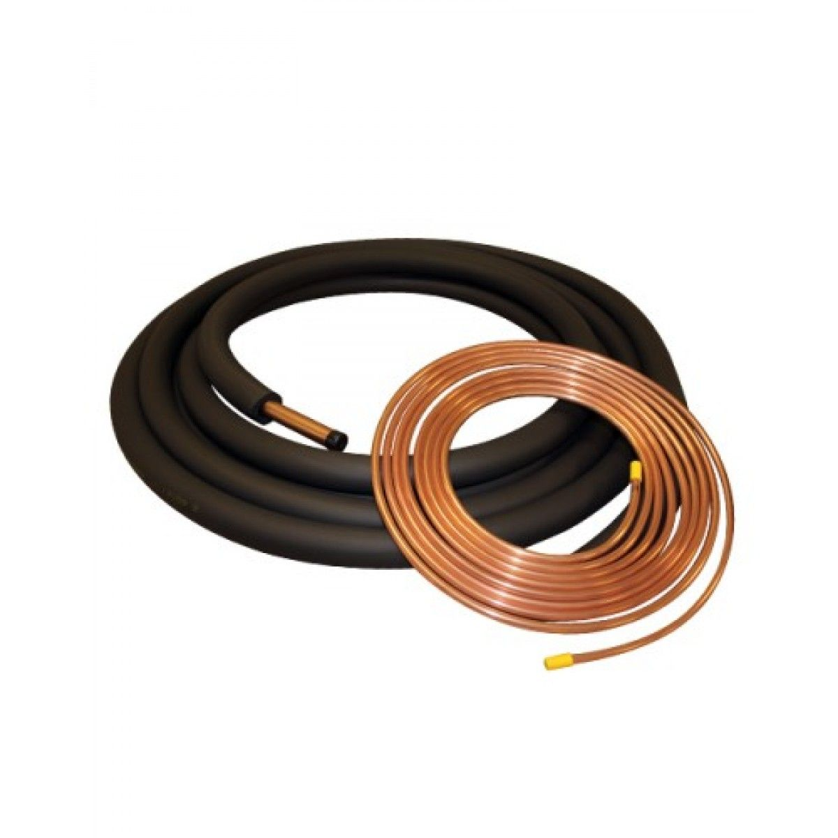 Copper Refrigerant Lineset And Insulation For 1 5 2 5