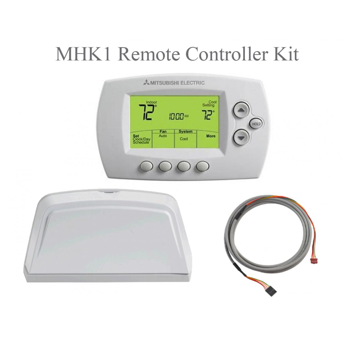 mxz 2c20na split air conditioning and heating 20k btu 2 indoormhk1 remote control kit