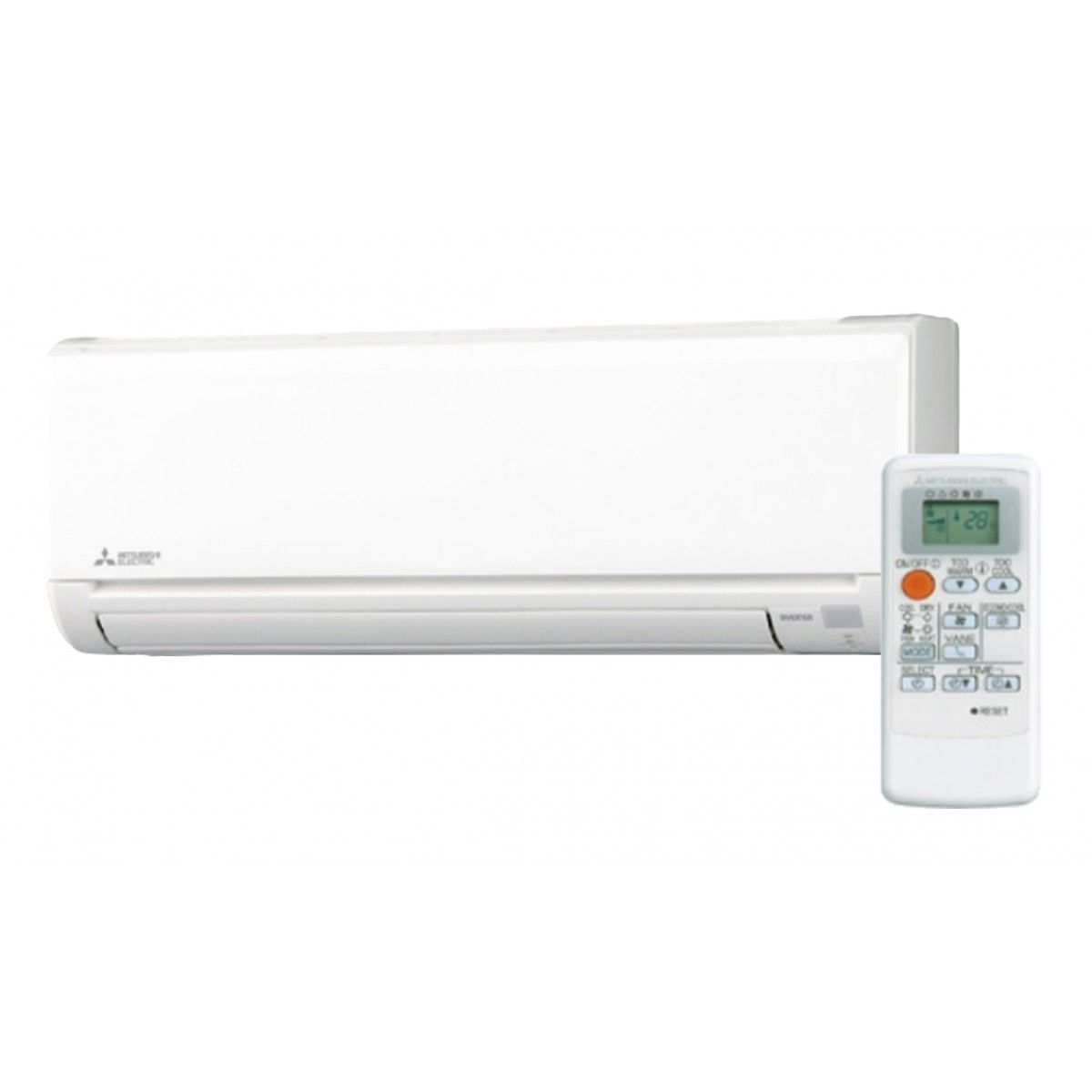 Mitsubishi Heating Cooling Wall Unit : Mitsubishi msz hm series k btu seer heat pump wall