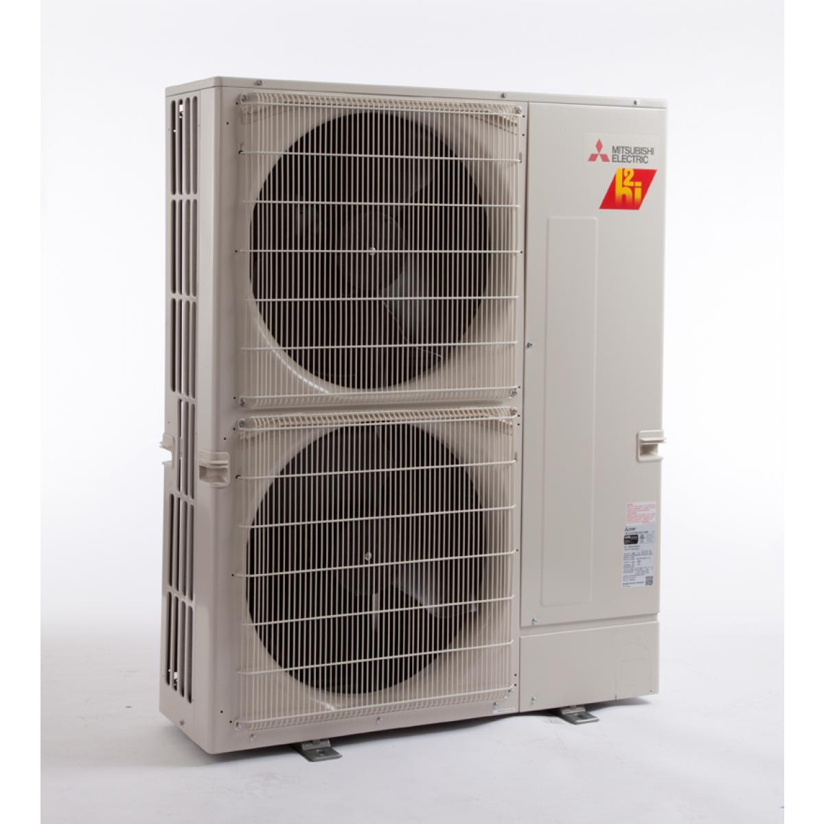 48k btu ton mitsubishi mxz hyper heat 8 zone condenser - ductless ac