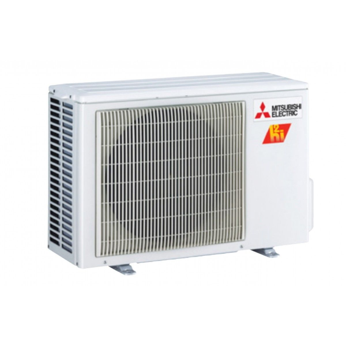 Mitsubishi 9k btu hyper heat condenser for floor mount for Ductless ac