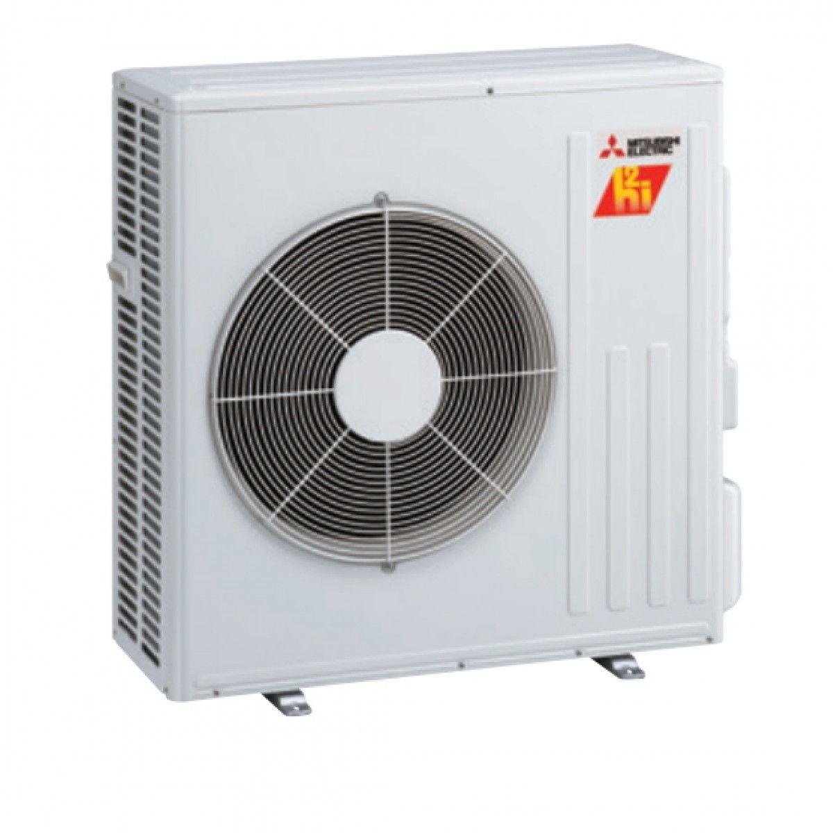 Mitsubishi 15K BTU Hyper Heat Condenser for Floor Mount (single zone only) in Outdoor Units ...
