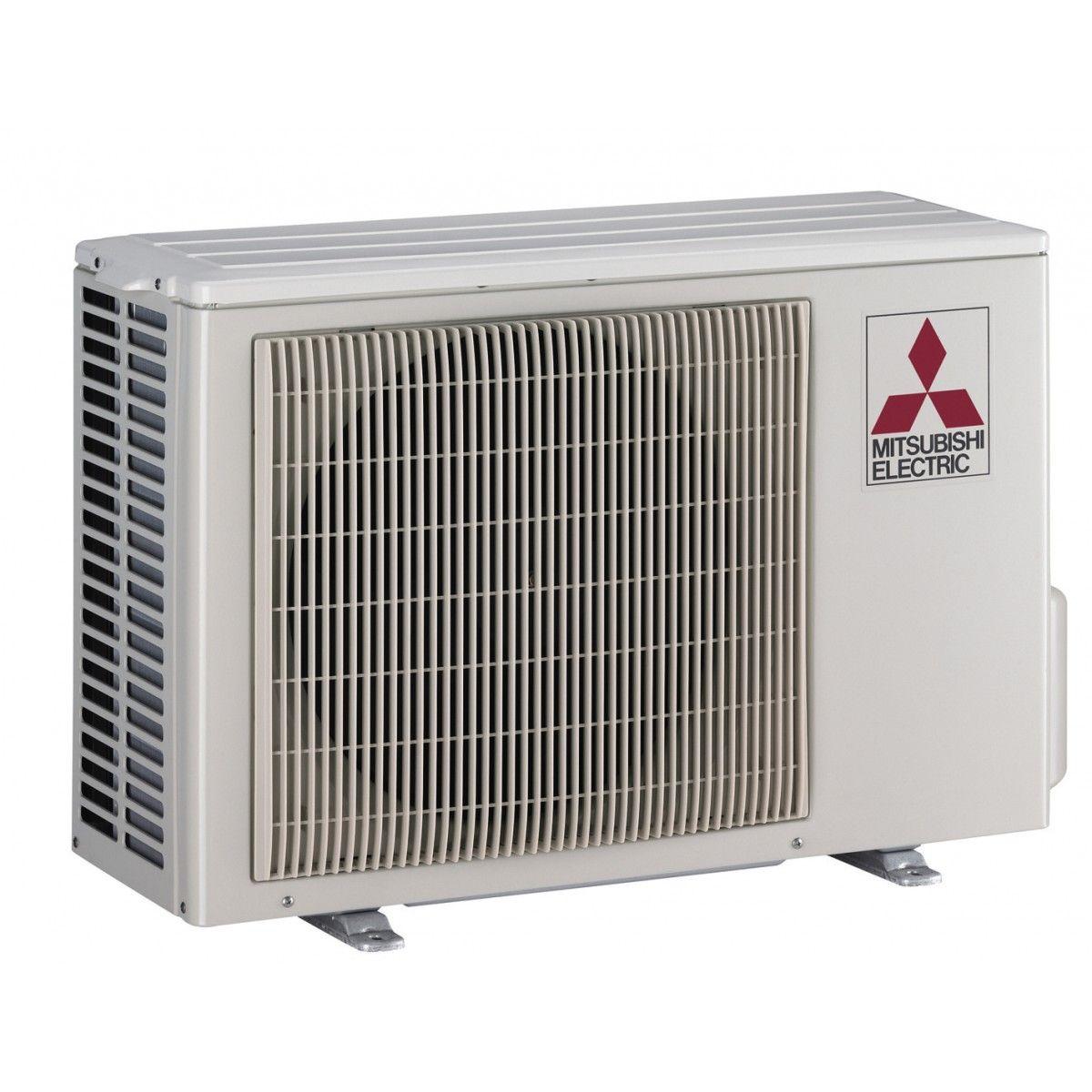 12k btu 23 1 seer mitsubishi muzgl heat pump outdoor unit for Outdoor ac unit pad