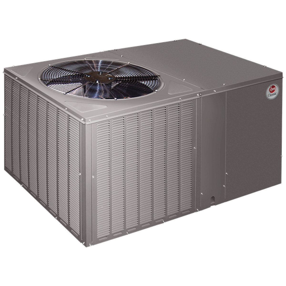 Rheem 14 Seer 3 5 Ton Heat Pump Package Unit Horizontal