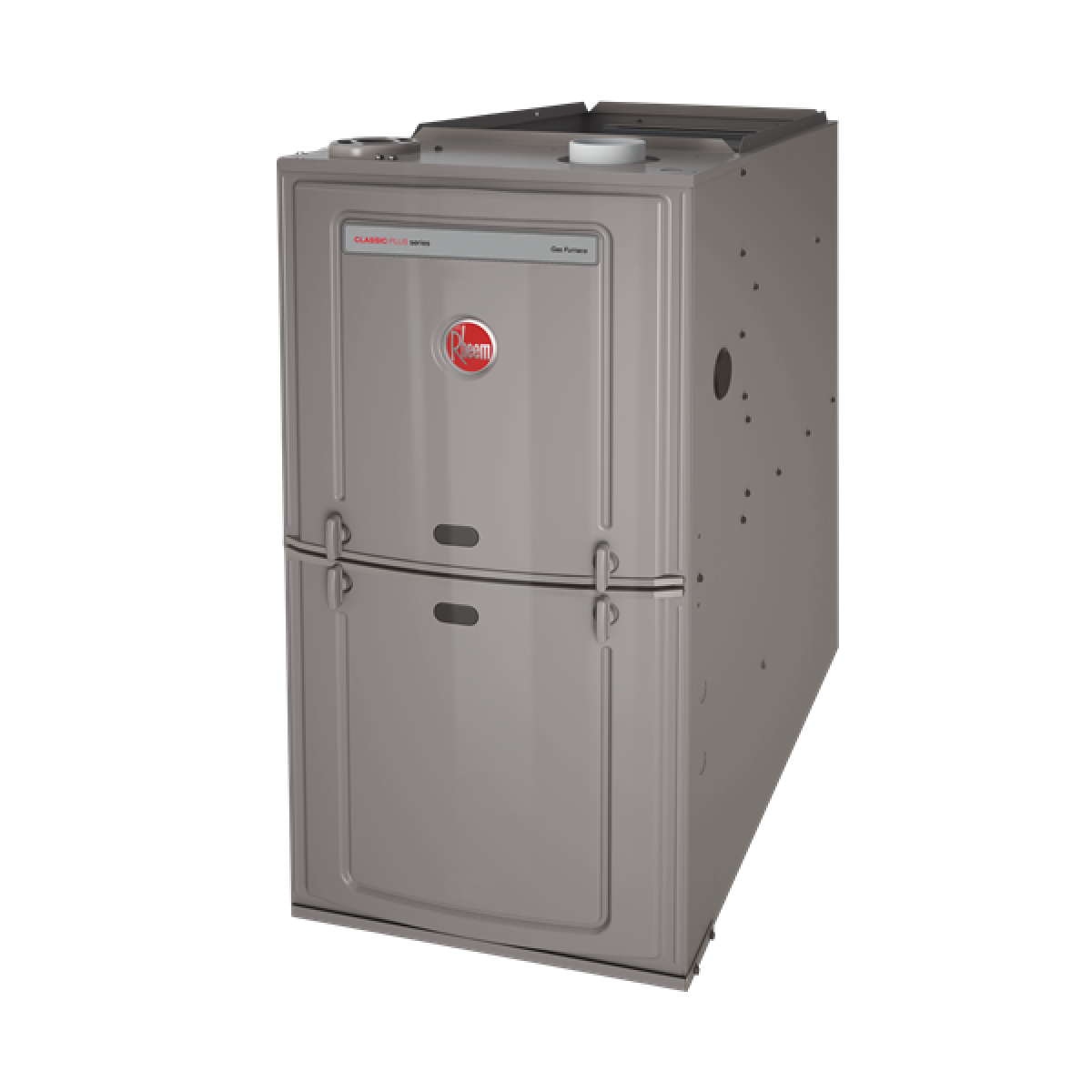 Rheem R801S 50K BTU 80% Single Stage Upflow/Horizontal Natural Gas Furnace