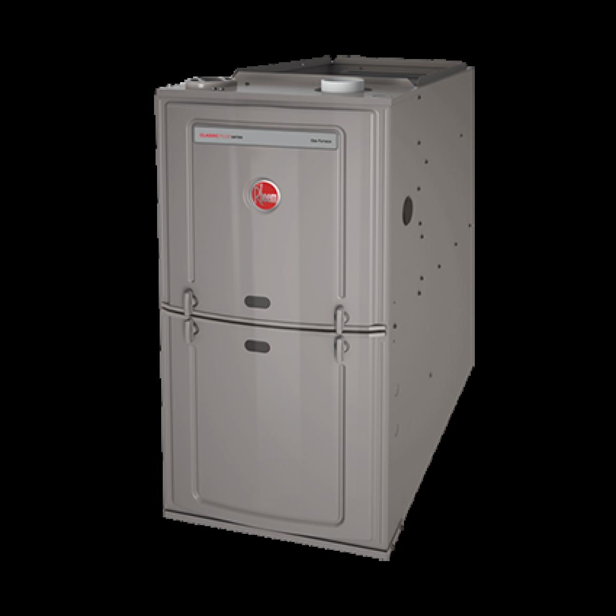 Rheem 80 50k Btu Natural Gas Furnace With 3 Ton Blower